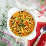 Rosemary scented chickpeas